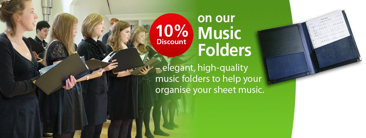 10% Discount on Music Folders
