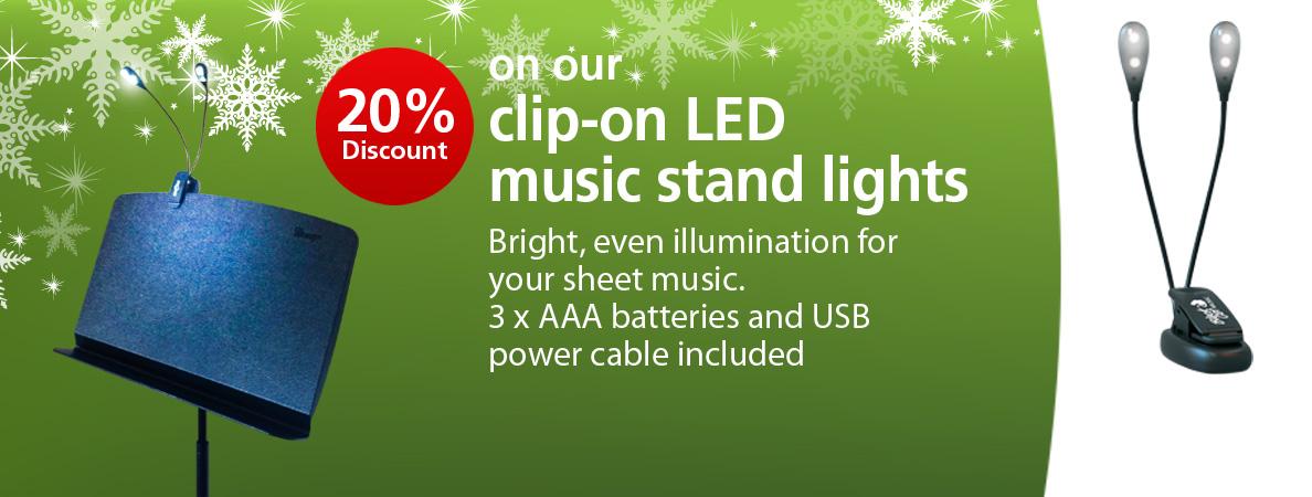 Special offer on LED lights