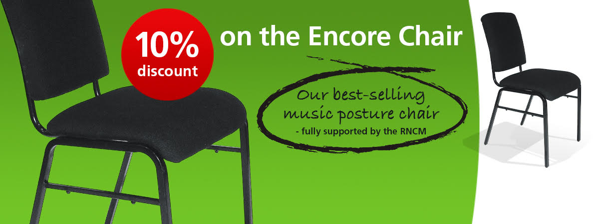 10% off the Encore chair available throughout March