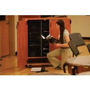 Three-column Mobile Band/Orchestra Folio Cabinet (WITHOUT DOORS)