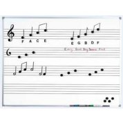 Large Music White Board for Wall Mounting