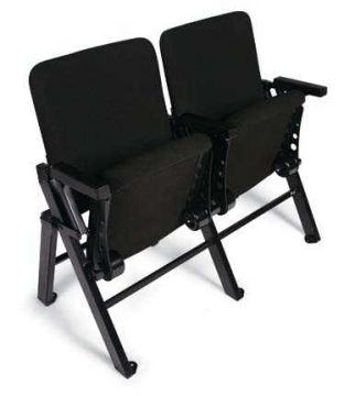 Double Standard Portable Audience Chair