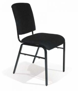 Encore Chair (Black/Black/44cm) - CLEARANCE