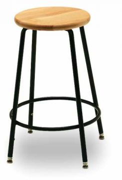 Ensemble Stool - wood seat