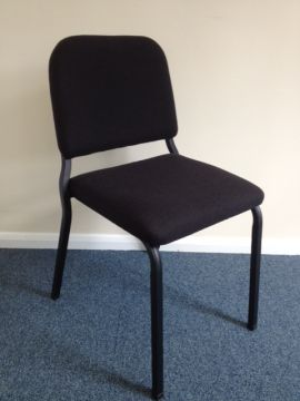 Musician Chair (Black/Black/41cm) - Clearance