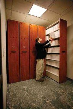 Music Library System - 6 Shelf Unit