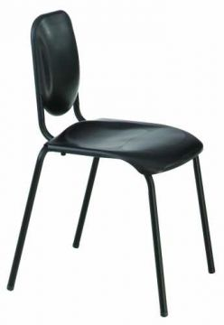 Nota Standard Chair (Black/Chrome) - Clearance
