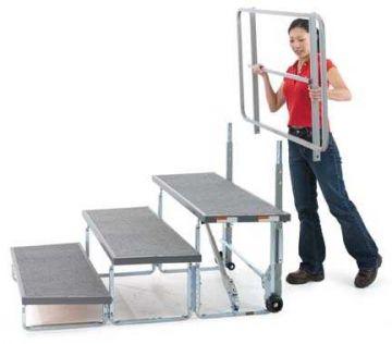 Tourmaster Backrail - 1.2m