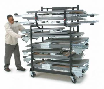 Tourmaster Move and Store Cart - 1.2m