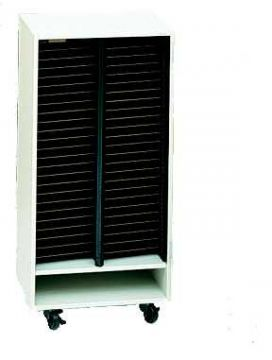 50-slot mobile Choral Folio Cabinet without door