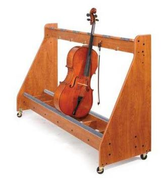 Cello Rack 4-unit (Cherry) - CLEARANCE