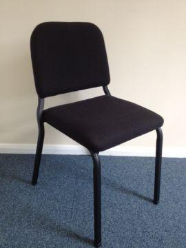 Musician Chair (Black/Black/47cm) - Clearance