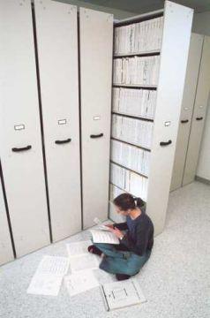 Music Library System - 7 Shelf unit