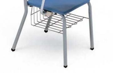 Under-Chair Mounted Book Rack