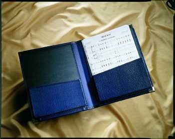 Choral Folder - A4 Size, Bottom Pockets