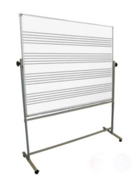 Music White Board and Mobile Stand