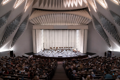 Auditorio de Tenerife - Wenger Diva full-stage acoustic shell ©Auditorio de Tenerife/Miguel Barreto
