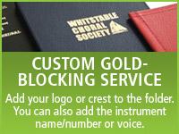 Custom Gold Blocking